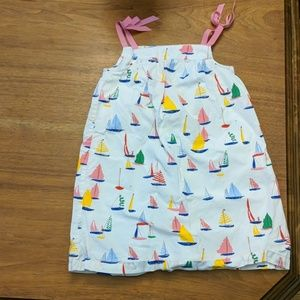 Hanna Andersson sailboat dress size 110